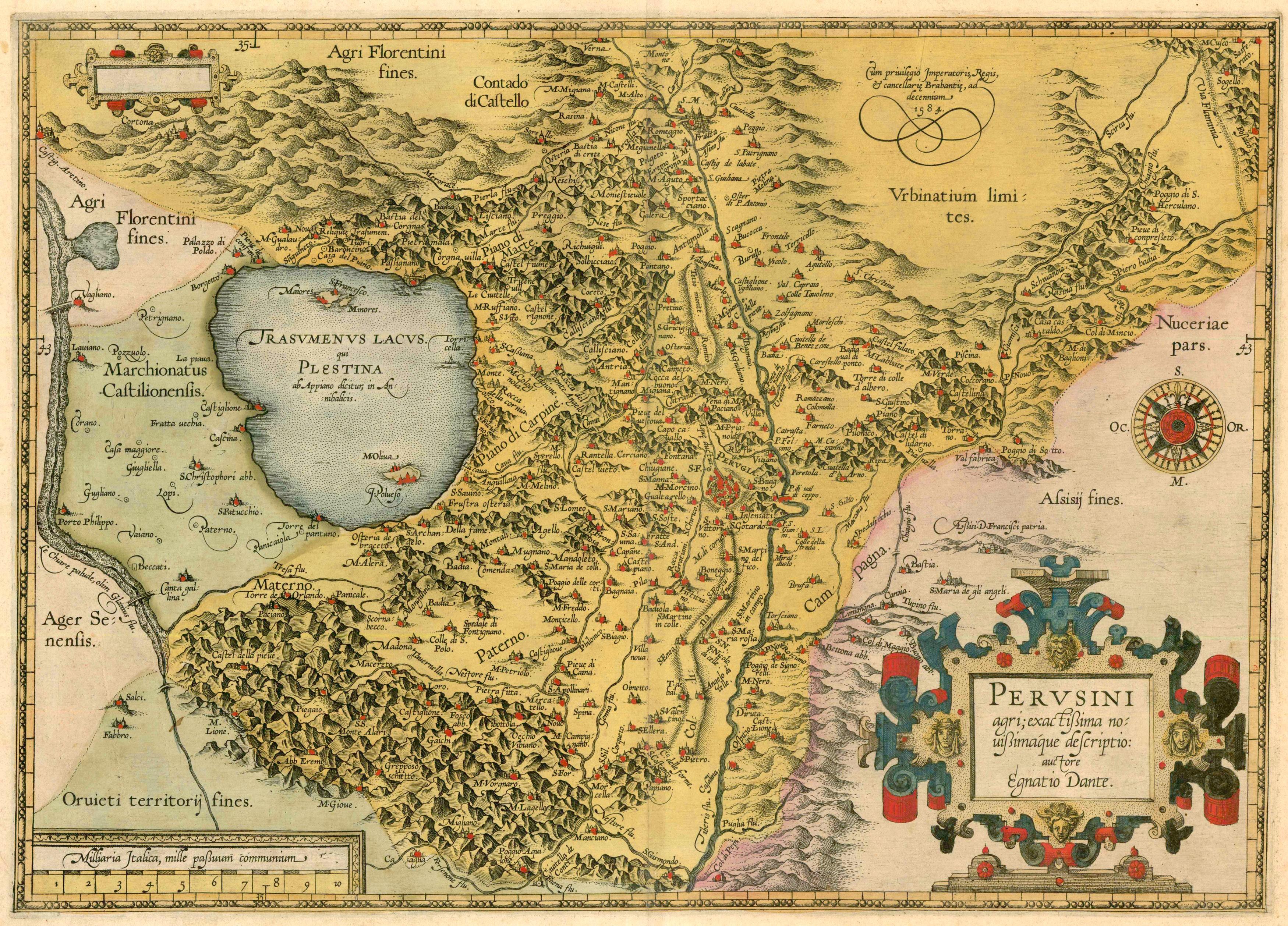 Cartina Umbria Da Stampare